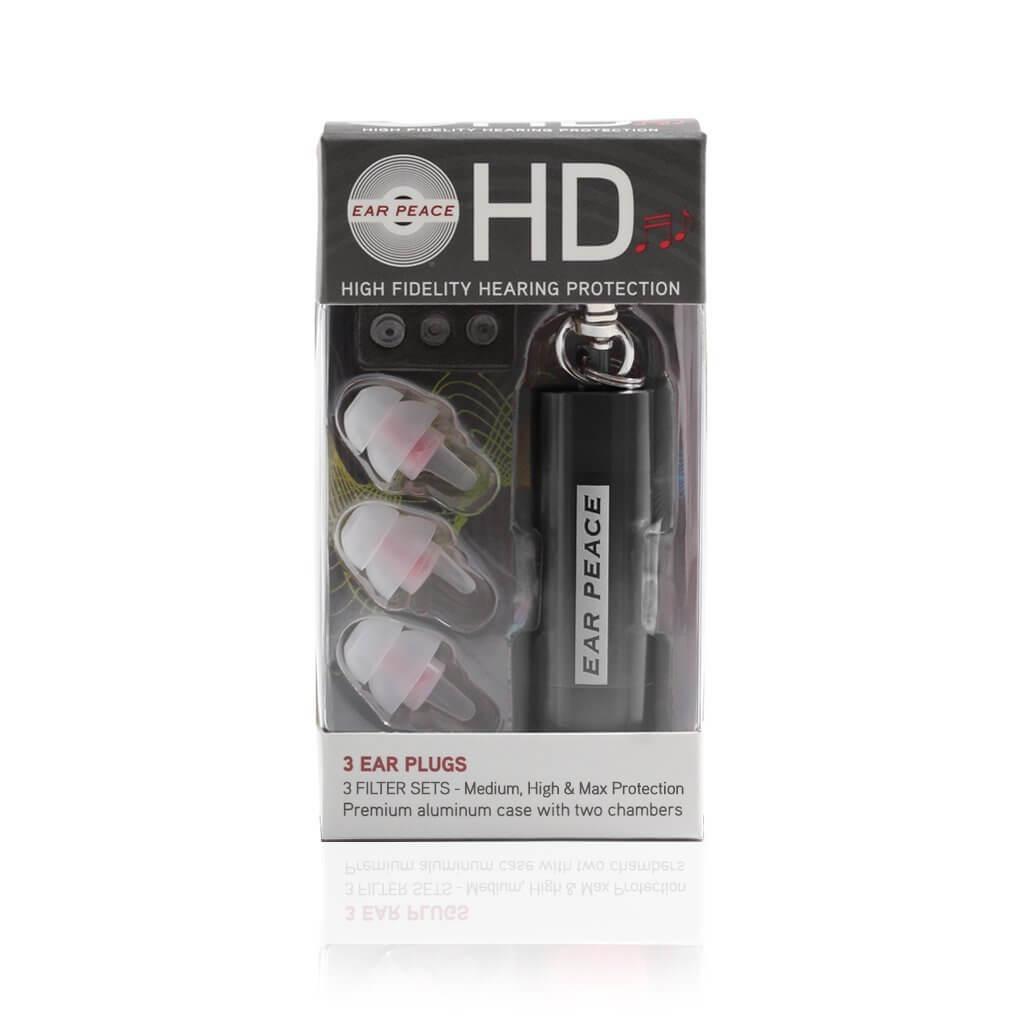 EarPeace HD Concert Ear Plugs