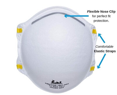 AMSTON N95 Protective Dust Mask