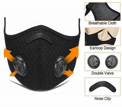 Cevapro Upgraded Dustproof Mask