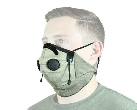 Dust mask for atv riding